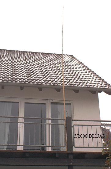 cb balkon antenne selbstbau. Black Bedroom Furniture Sets. Home Design Ideas